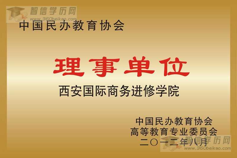 中国民办教育协会理事单位